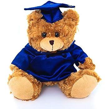 e58e6590eec Amazon.com  Blue Panda Graduation Plush Bear - Stuffed Animal Louie ...