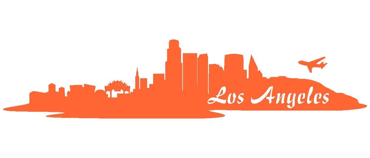 Samunshi® Aufkleber Los Los Los Angeles Skyline Autoaufkleber LA in 9 Größen und 25 Farben (180x39cm kupfermetalleffekt) B009EQ3BQG | Düsseldorf Online Shop  a043c6