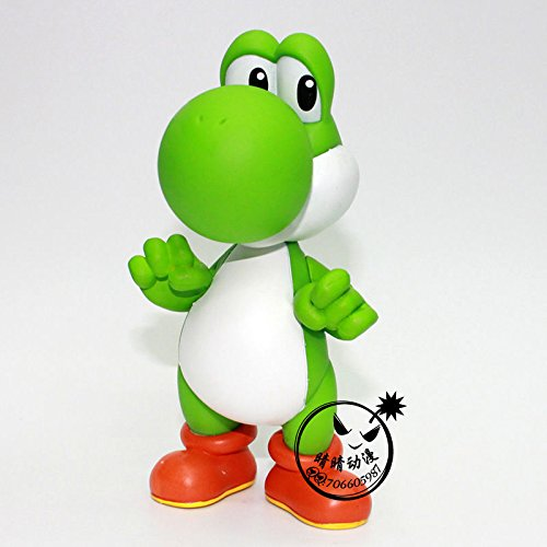 Super Mario Brothers/Bros YOSHI Action Figure Toy Gifts Green