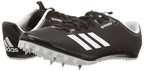adidas Men's Sprintstar, Core Black/Orange/White, 8 M US by adidas (Image #6)