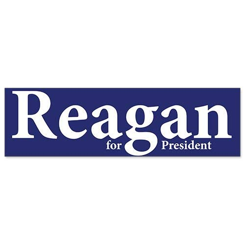 - Yilooom Bumper Sticker for Cars, Trucks, Laptops - 1980 Ronald Reagan for President Campaign