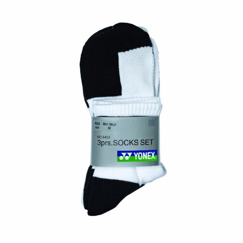 Yonex W-8423 - Conjunto de calcetines (3 pares) Talla:small: Amazon.es: Deportes y aire libre