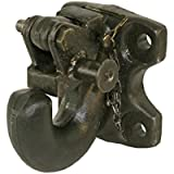 Wallace Forge 30 Ton Rigid Mount Pintle Hook - Commerical Mount - Made in U.S.A.
