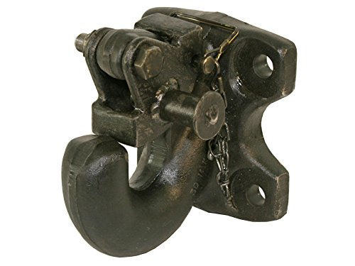 Wallace Forge 30 Ton Rigid Mount Pintle Hook - Commerical Mount - Made in U.S.A. by Wallace Forge