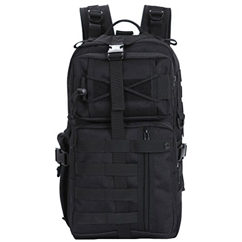 MatchLife - Bolso mochila  para mujer Camouflage1 negro