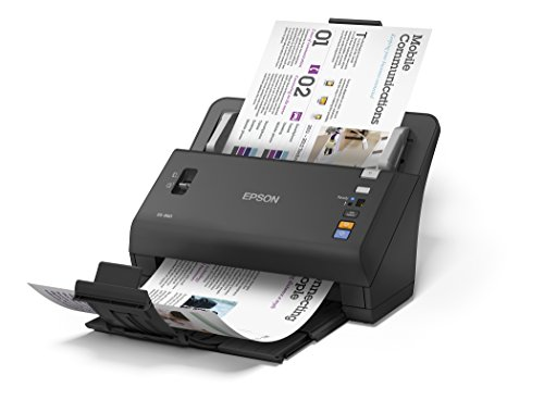 Epson DS-860 Document Scanner: 65ppm, 80-page ADF with 3-Year Warranty and Next Business Day Replacement by Epson