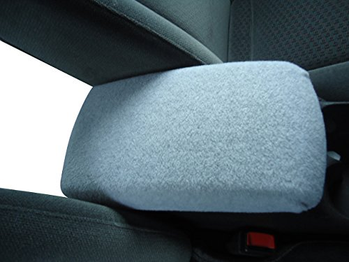 2007 Nissan Suv (NISSAN ROGUE 2007-2014 SUV Auto Center Console Armrest Cover Protects from Dirt and Damage Renews old damaged consoles - Light Gray)