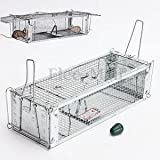 SLB Works Brand New New Style Reusable Rodent Live Animal Mouse Trap Snap Hamster Cage Rat Catch