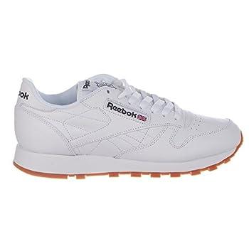 Reebok Men's Classic Leather Sneaker, Whitegum, 9 M Us 0