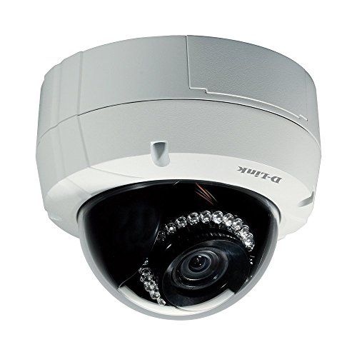 D-Link Systems DCS-6513 3MP Full HD Outdoor Dome Network Camera (White) (Range High Dome Def)