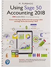 Using Sage 50 Accounting 2018 Plus Student DVD