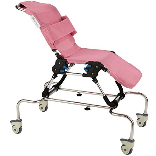 Shower Base and Trolley for Starfish Bath Chair, One-Size, Bathroom Support and Stabilization Aid for Showers and Baths, Adjustable Base for Customised Fit for Children, Kids, Adolescents from Patterson Medical