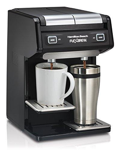 Hamilton Beach 49998 FlexBrew Dual Single Serve Coffee Maker, Black by Hamilton Beach (Image #1)