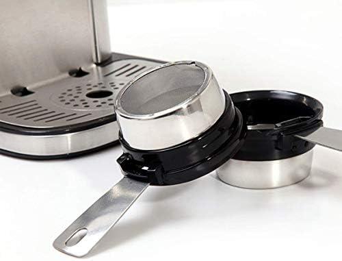 Machine à café filtre, filtre amovible automatique Cafetières for une tasse en acier inoxydable 1300W HUERDAIIT