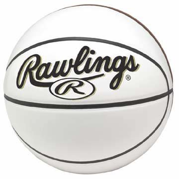(Rawlings Synthetic Leather Autograph/Trophy Basketball from)