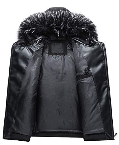 SSRSH Homme Veste à Capuche Hiver Manteau Multi-Poche Blouson Garçon Chaud Parka Veston Doudoune Manteaux Veste Capuche…