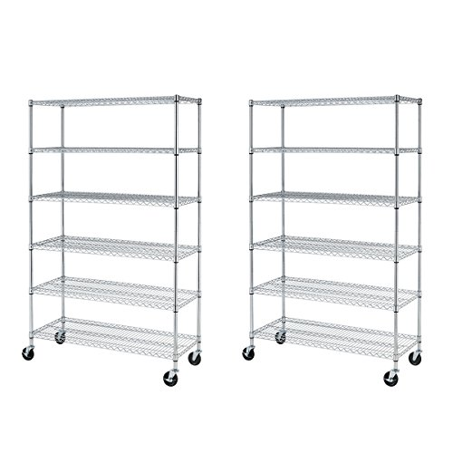 2 Adjustable Wire Shelves - 7