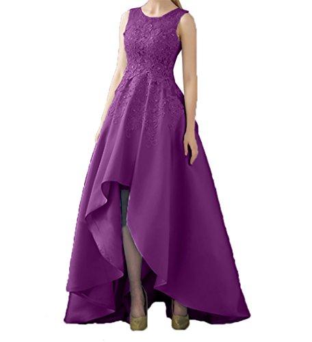 Lila mia Kleider Rock A Braut Partykleider Hi Spitze lo Abschlussballkleider Linie Abendkleider Standsamt Asymettrisch La Promkleider ZdA6qwxpd