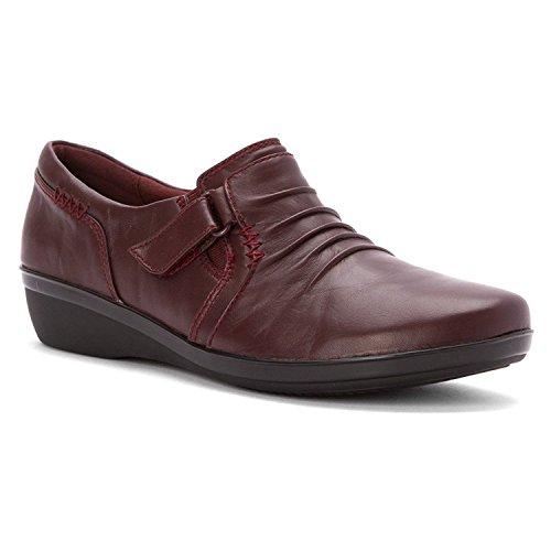 online store 5b64e 06559 Shoes Leather Kvinnor Burgundy Casual Coda Everlay xqIwT4BH