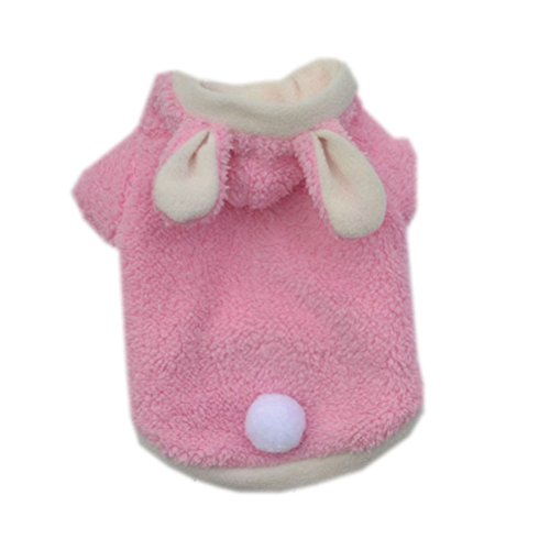 [Uniquorn Bunny Turned Clothing Pet Teddy VIP Dog Clothes Rabbit Cute Pajamas Puppies Autumn And Winter Clothes] (Cat Mane Costume Uk)