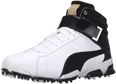 PUMA Men's Titantour Ignite HI Top SE Golf Shoes, Puma White