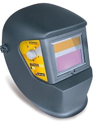 Master LCD - Casco de seguridad para soldar (varios tonos de oscuridad con regulación automática