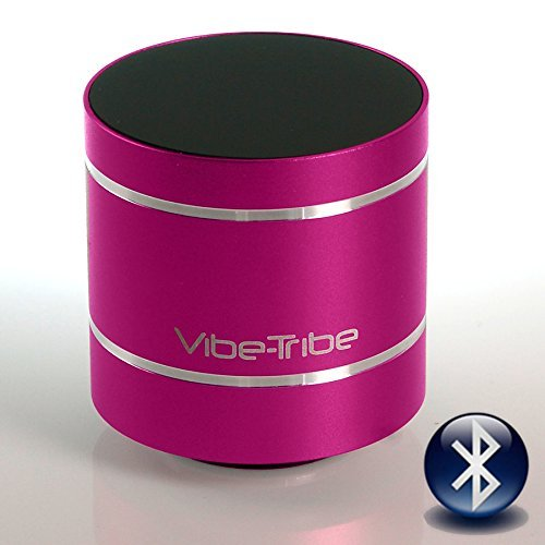 Vibe-Tribe Troll 2.0: 10W Compact Bluetooth Vibration Speaker Magenta