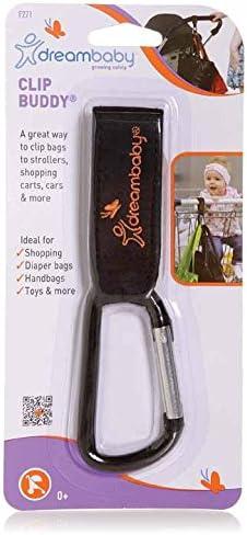 Dreambaby F271 CLIP BUDDY/® Mousqueton//Crochet pour Poussettes