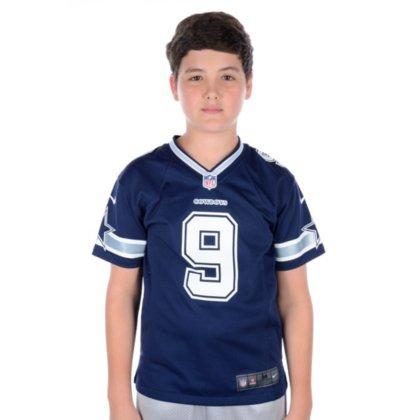 Dallas Cowboys NFL Nike Youth Tony ROMO #9 Game Jersey, Navy, Small ()