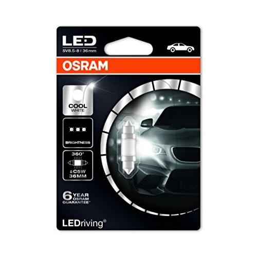 OSRAM LED Premium Retrofit  SV8.5-8 36mm C5W Intérieur 6498CW-01B Cool White 12V Blister Individuel