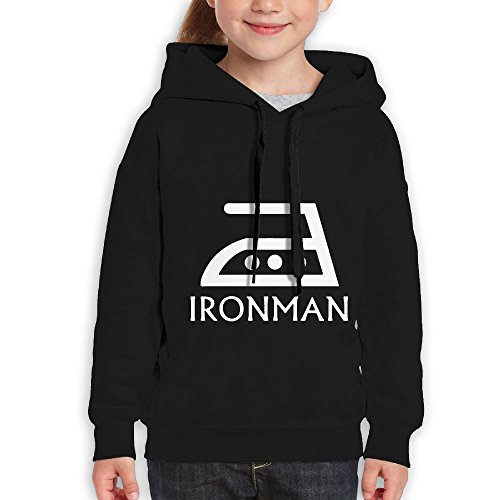 FDFAF Teenager Youth Ironman Mountain Climbing Vintage Hoodie Sweatshirt XL - Obey Sunglasses