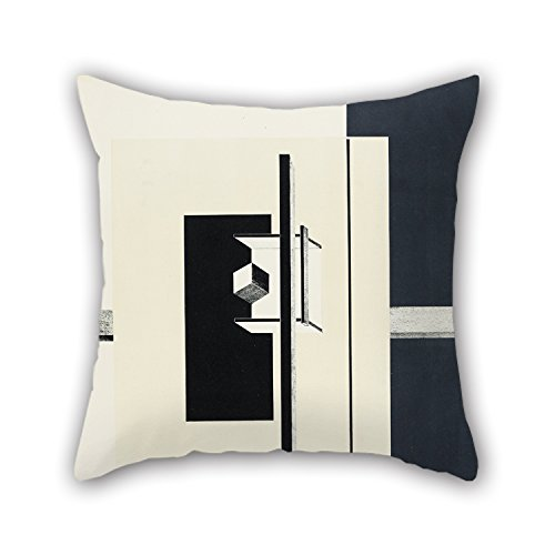 Oil Painting El Lissitzky - 1o Kestnermappe Proun (Proun. 1st Kestner Portfolio) Pillow Covers Best For Monther Kids Room Festival Couples Office Him 16 X 16 Inches / 40 By 40 Cm(double Sides) (Double Gusseted Portfolio)