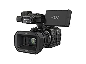 Panasonic HC-X1000 4K-60p/50p Camcorder with High-Powered 20x Optical Zoom and Professional Functions (Black)