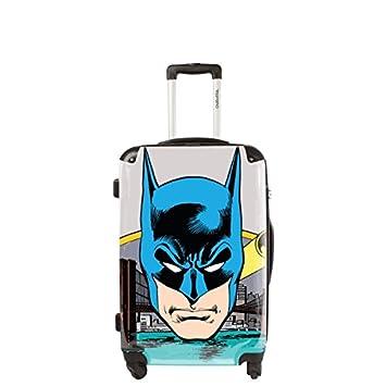 Hand Luggage Suitcase on 4 Wheels Batman 51 cm  Amazon.co.uk  Luggage 7d2d8c535716a