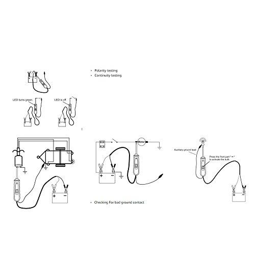 VXSCAN EM285 Automotive Electric Circuit Tester Car Electrical ...