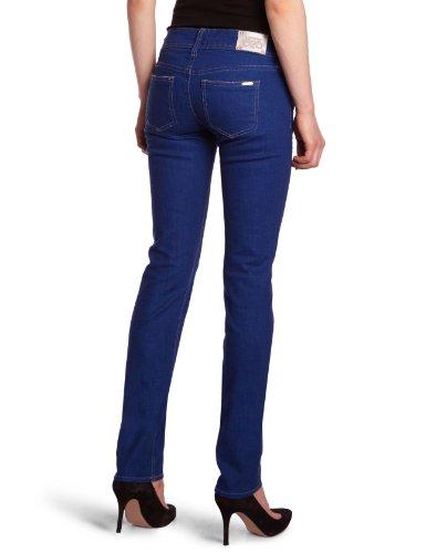 Femme Temps 3000 Bleu Coupe Jean Bleu Cerises Le Ajuste Brut des w0nvPqx0d