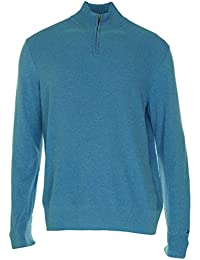 Tommy Hilfiger Mens Acadia Half,Zip Sweater