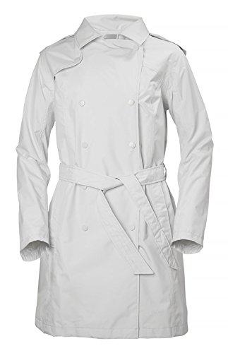- Helly Hansen Women's Wellington Trench Coat, Nimbus Cloud, X-Small