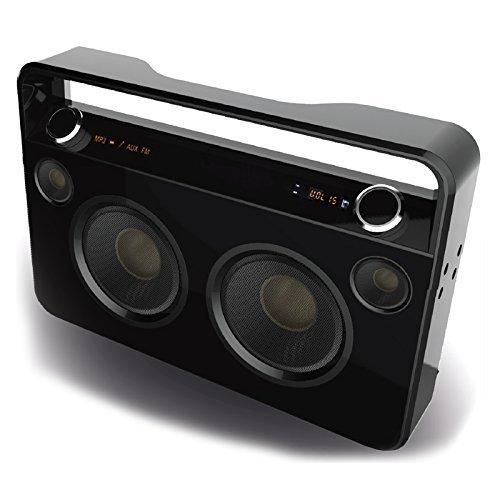 Supersonic Bluetooth Boombox-Black