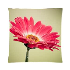 Designed Flowers Custom Zippered Pillow Case Durable Living Room Cushion Case 16x16(two sides)