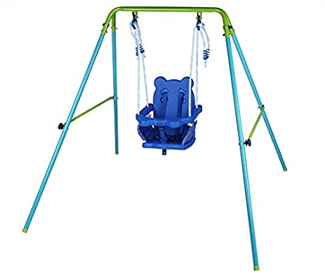 Amazon.com: GALAXY Swing Metal Frame Toddler Baby Swing OUTDOOR use ...