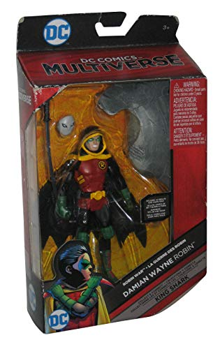 DC Comics Multiverse Damian Wayne Robin (Build King Shark) Action Figure 6 Inches]()