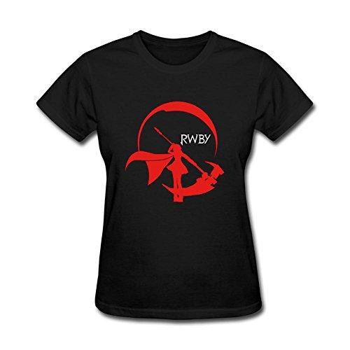 Feixia Women's RWBY DIY Cotton Short Sleeve T Shirt