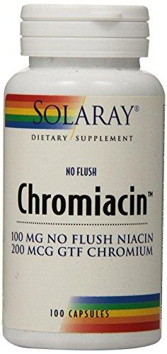 Cheap Solaray Chromiacin 100mg Capsules, 100 Count