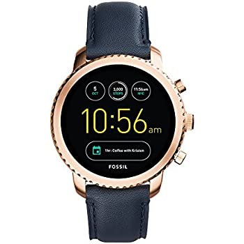 Fossil Q Men s Gen 3 Explorist Stainless Steel and Leather Smartwatch 0f82f5b44a2