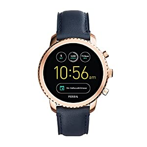 Fossil Men's Gen 3 Explorist Stainless Steel Touchscreen Smartwatch