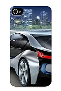 First-class Case Cover Series For Iphone 4/4s Dual Protection Cover Bmw I8 UIrKElW1236OzDuo