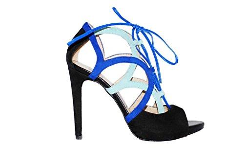 Sandalen Sandaletten aus Leder Schuhe Damen RIPA shoes - 50-36753