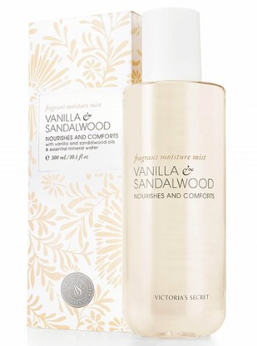 Victoria's Secret Naturally Vanilla & Sandalwood Fragrant Moisture Body Mist