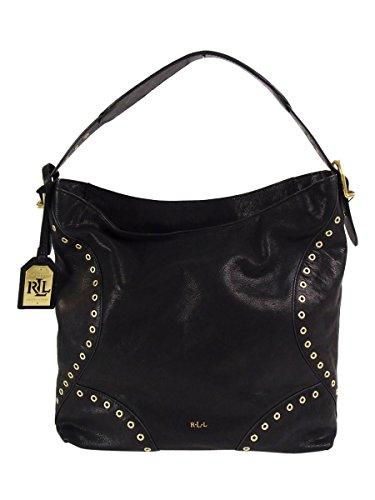 Lauren Ralph Lauren Womens Morley Small Hobo (Black) by Lauren by Ralph Lauren